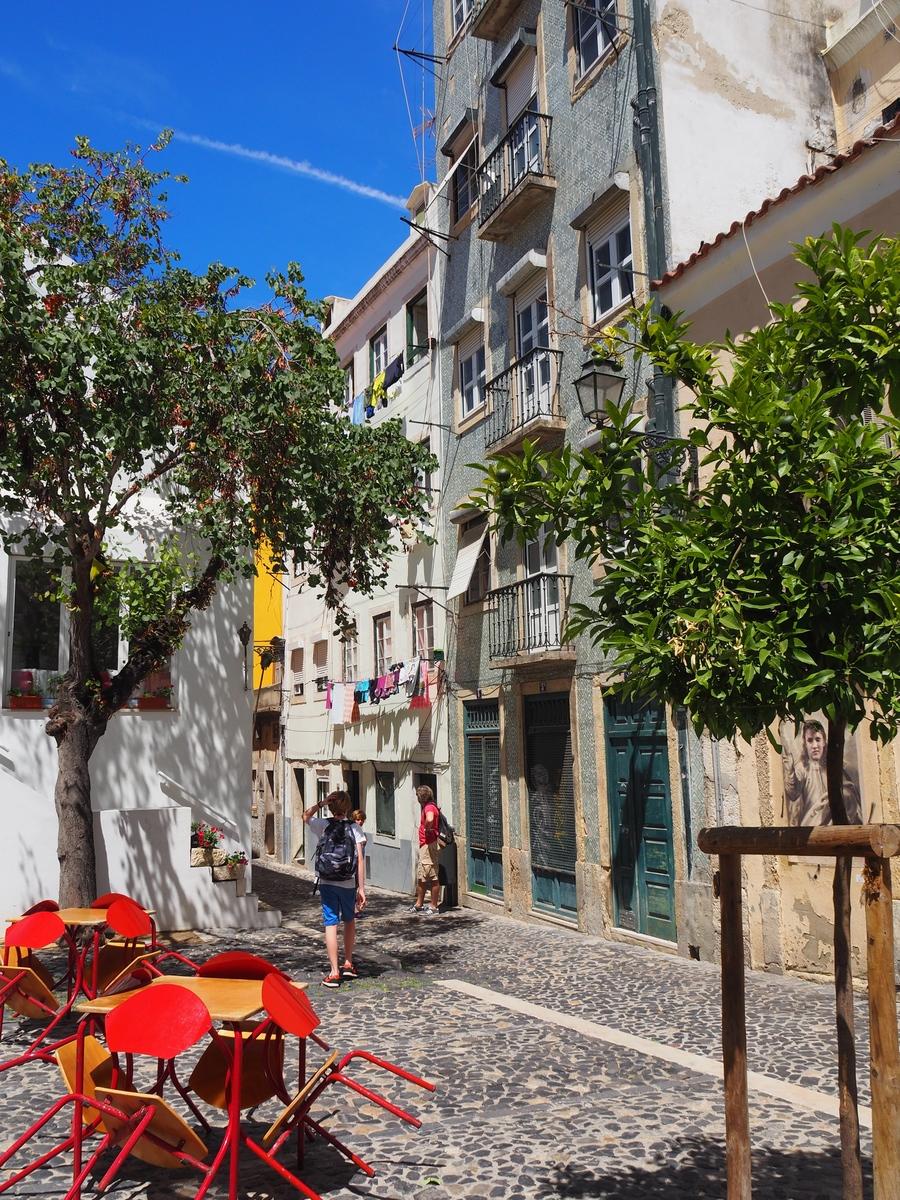 Les ruelles de l'Alfama à Lisbonne