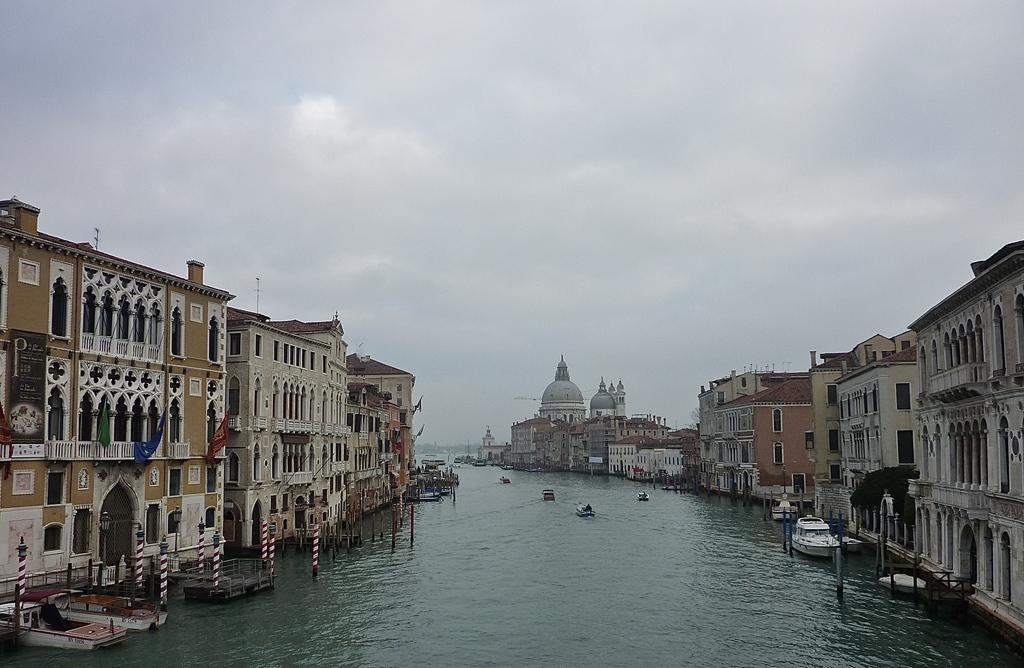 Venise en hiver, les canaux