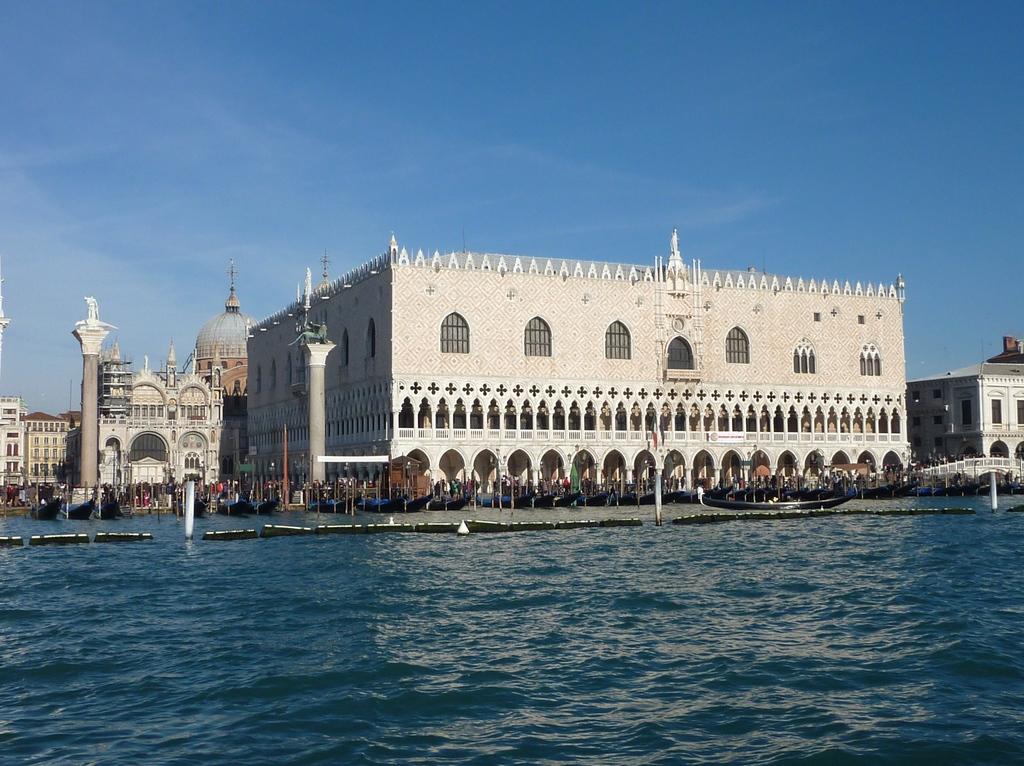 Venise en hiver, le Palais des Doges