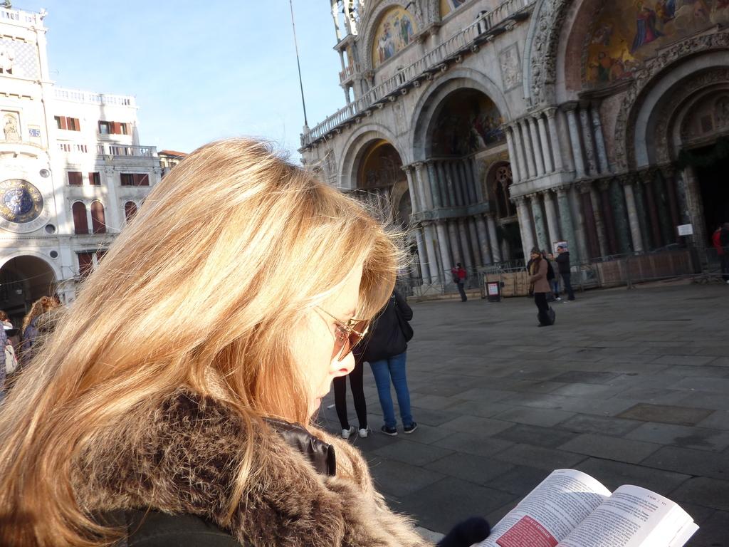 Venise en hiver, place Saint Marc