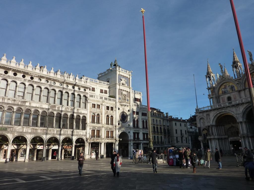 Venise en hiver, place Saint-Marc