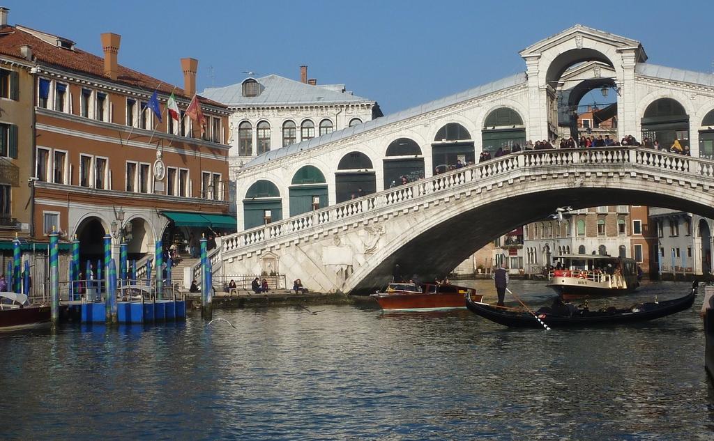 Venise en hiver, le pont du Rialto