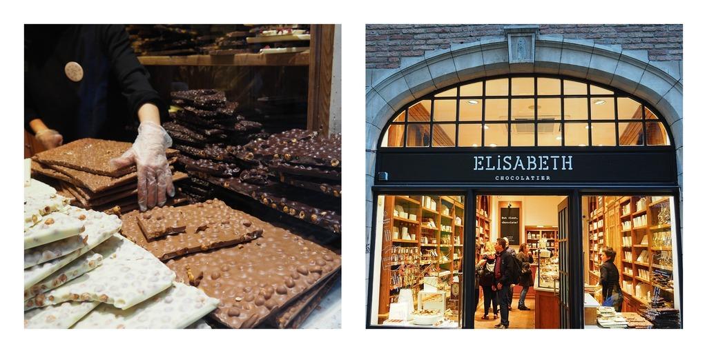 Où manger à Bruxelles ? La chocolaterie Elisabeth