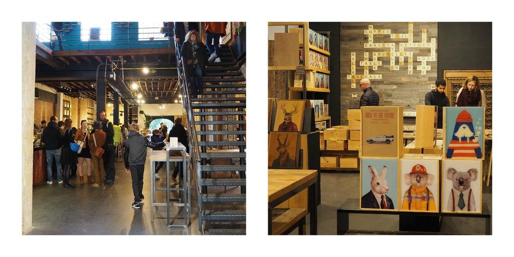 """Où manger à Bruxelles ? Prendre un verre au concept store """"Atelier en ville"""""""