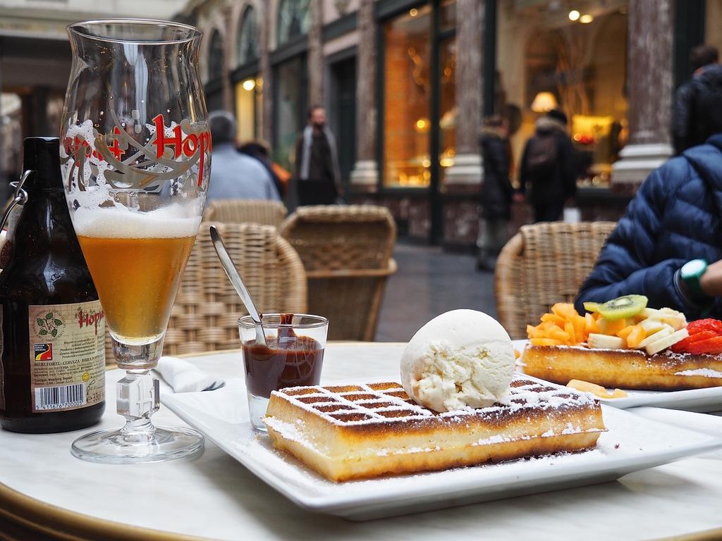 Où manger à Bruxelles ? Manger des gaufres chez Mokafé