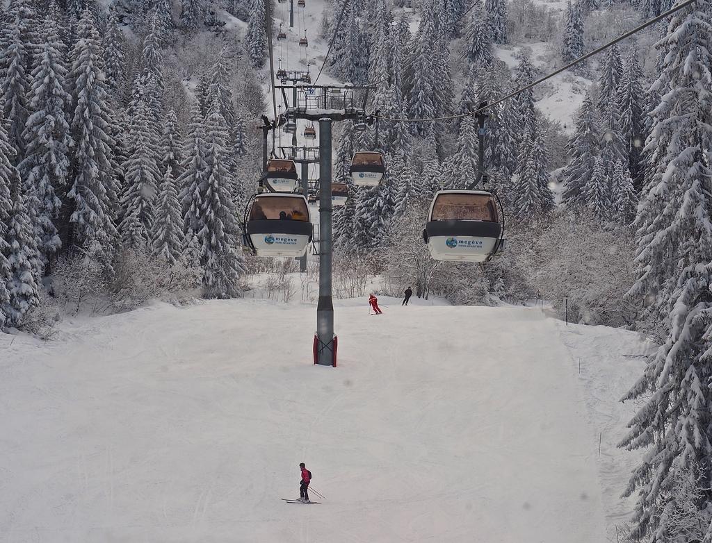 Megève en hiver, les oeufs du Mont d'Arbois