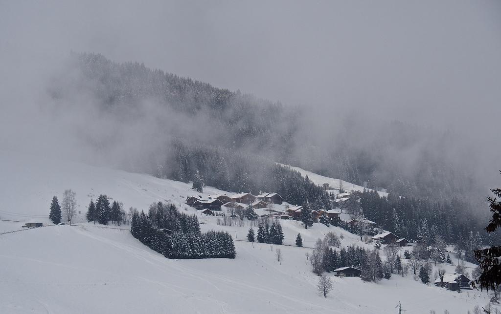 Megève en hiver, sur les pistes
