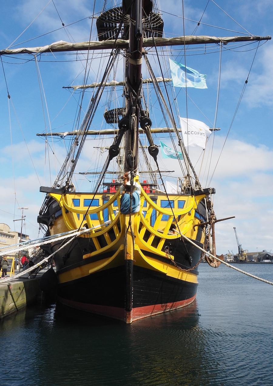 Port de Saint-Malo, l'Étoile du Roy