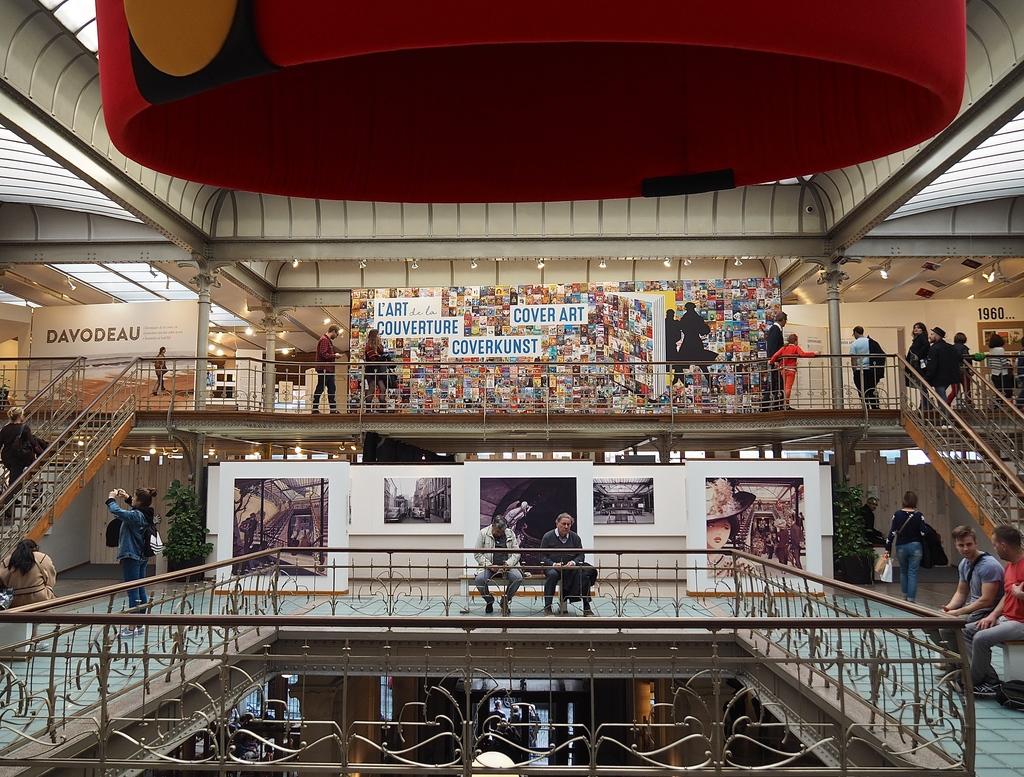 Visiter Bruxelles en famille, que faire 4 jours ? Visite du Musée de la Bande Dessinée