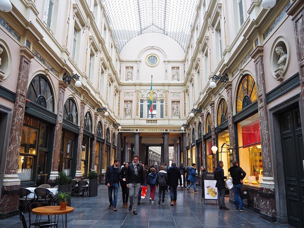 Bruxelles en 4 jours et en famille - Galeries Saint-Hubert