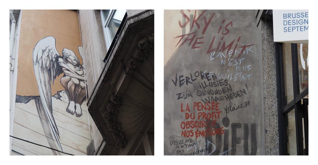 Bruxelles en 4 jours et en famille - Graffitis