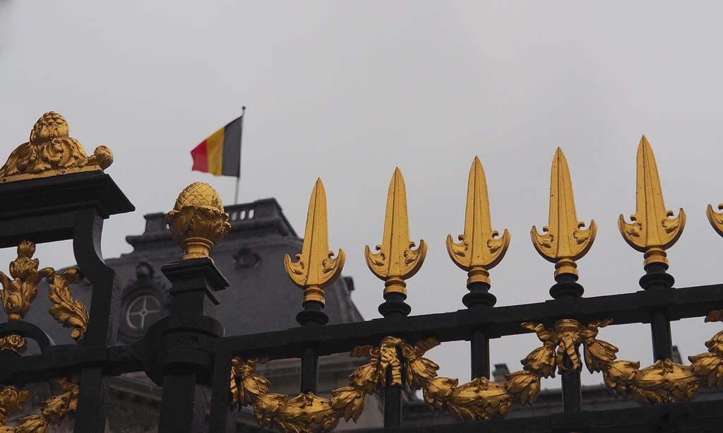 Bruxelles en 4 jours et en famille - Grilles du Palais Royal