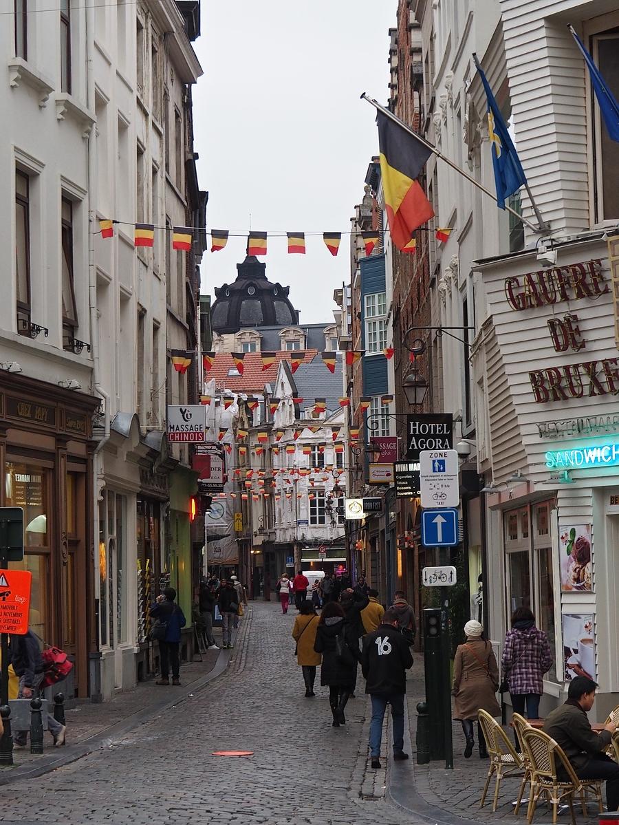 Bruxelles en 4 jours et en famille - La rue des Eperonniers