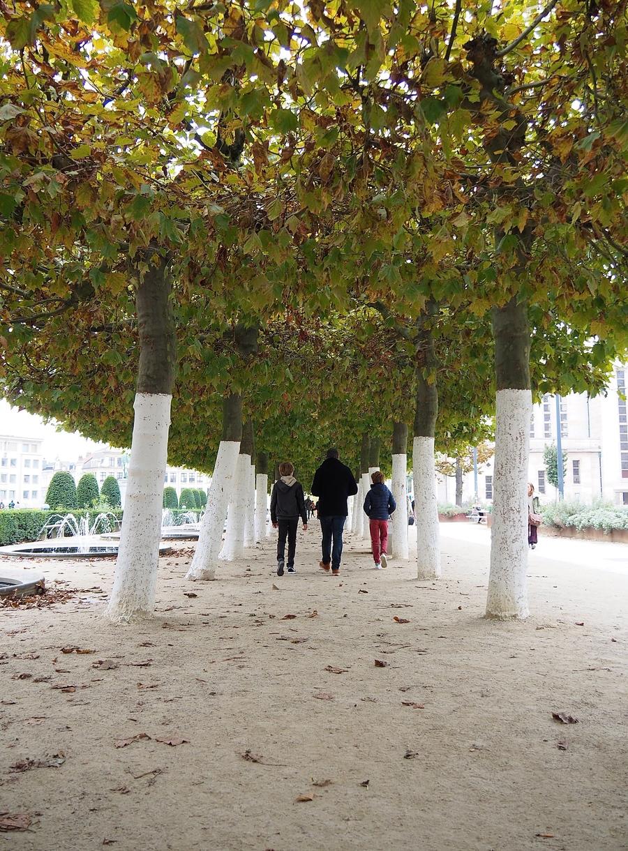 Bruxelles en 4 jours et en famille - Jardins du Mont des Arts