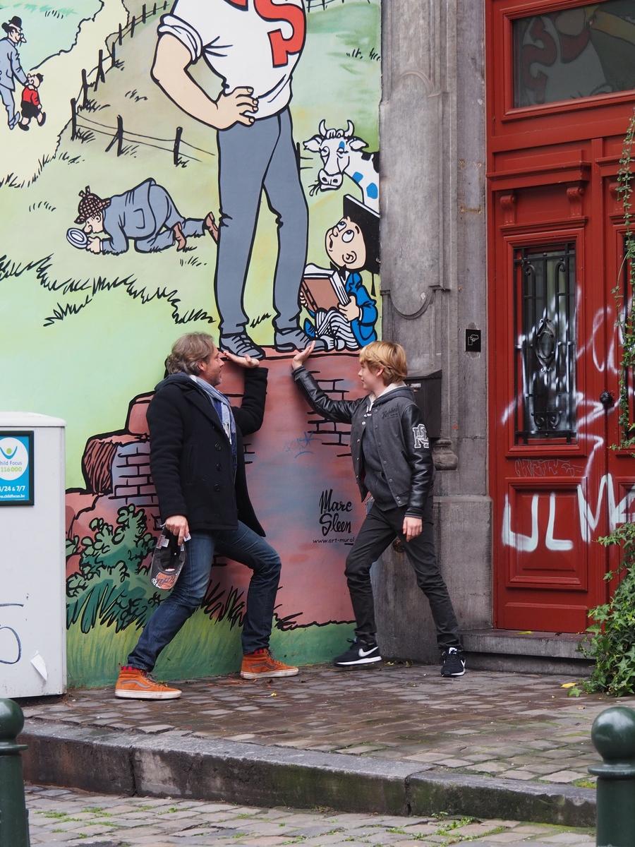 Visiter Bruxelles en famille, que faire 4 jours ? -Parcours BD