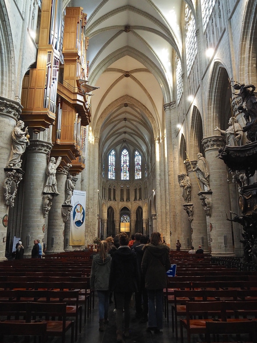 Visiter Bruxelles en famille, que faire en 4 jours ? - La Cathédrale Saints-Michel et Gudule