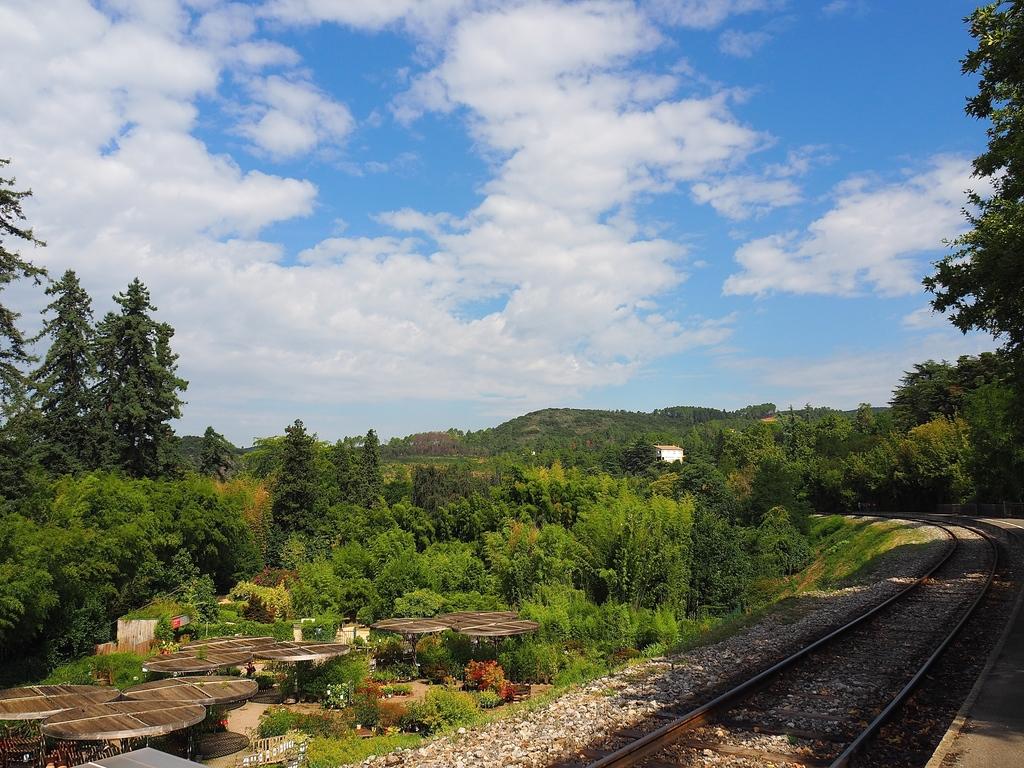 La Bambouseraie à Anduze, le petit train des Cévennes