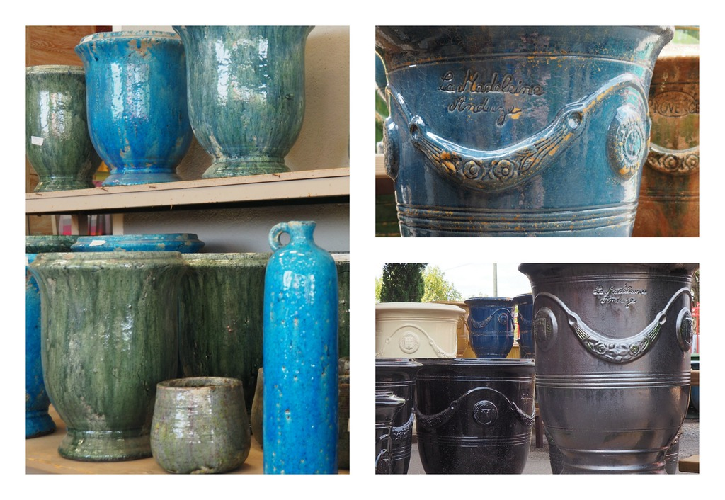 La Bambouseraie à Anduze, vases Anduze, la poterie La Madeleine