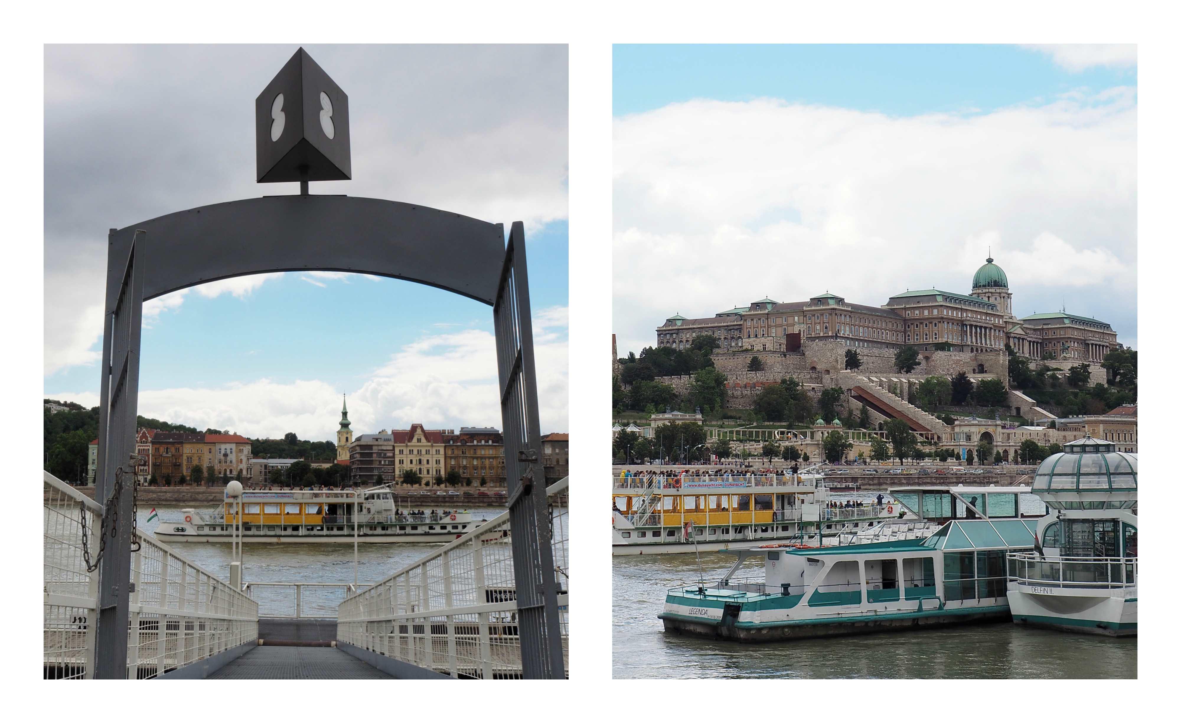 Visite de Budapest en famille, itinéraire sur 5 jours - Sur le Danube, à bord du ferry BKK