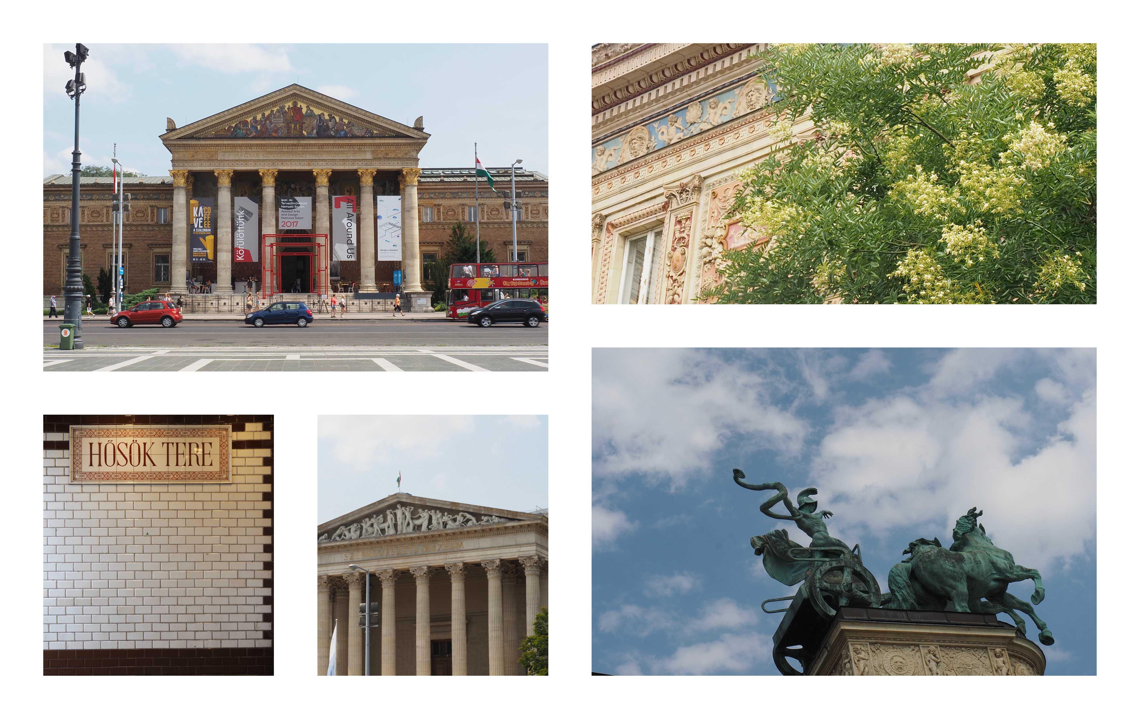 Visite de Budapest en famille, itinéraire sur 5 jours - Balade dans le quartier du Bois de la ville - Place des Héros - Palais des Arts et musée des Beaux Arts