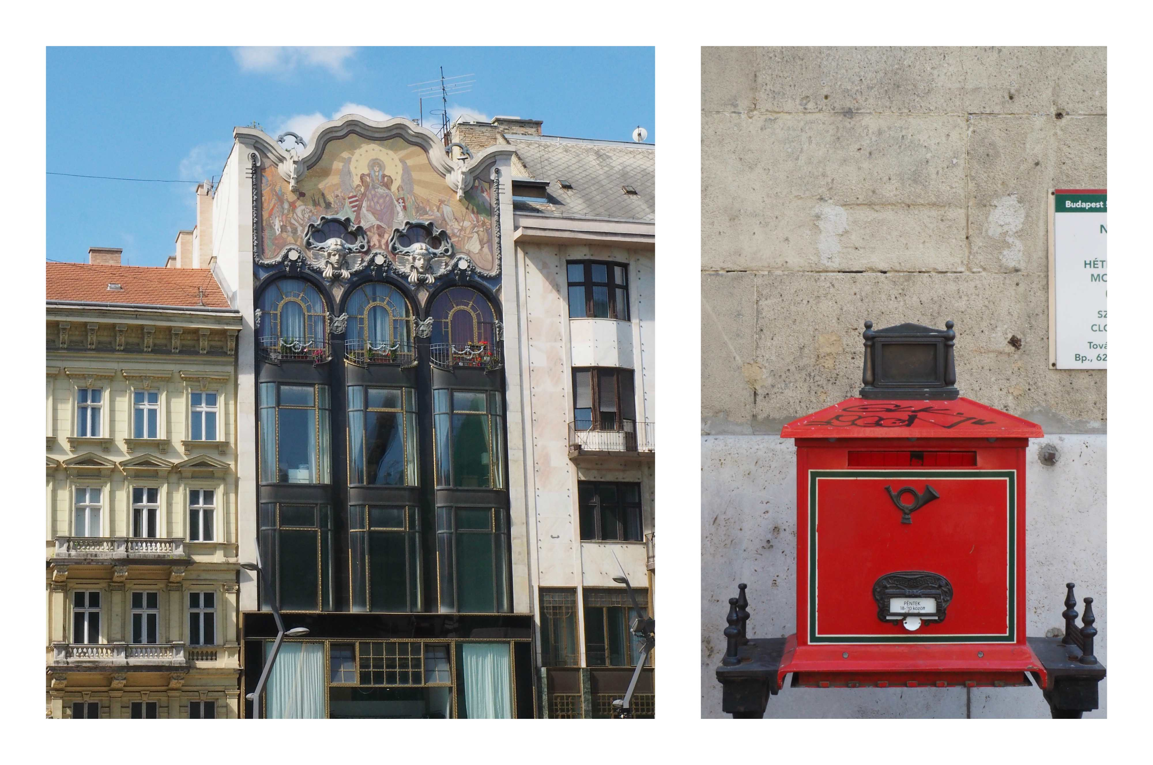 Visite de Budapest en famille, itinéraire sur 5 jours - détails architecture