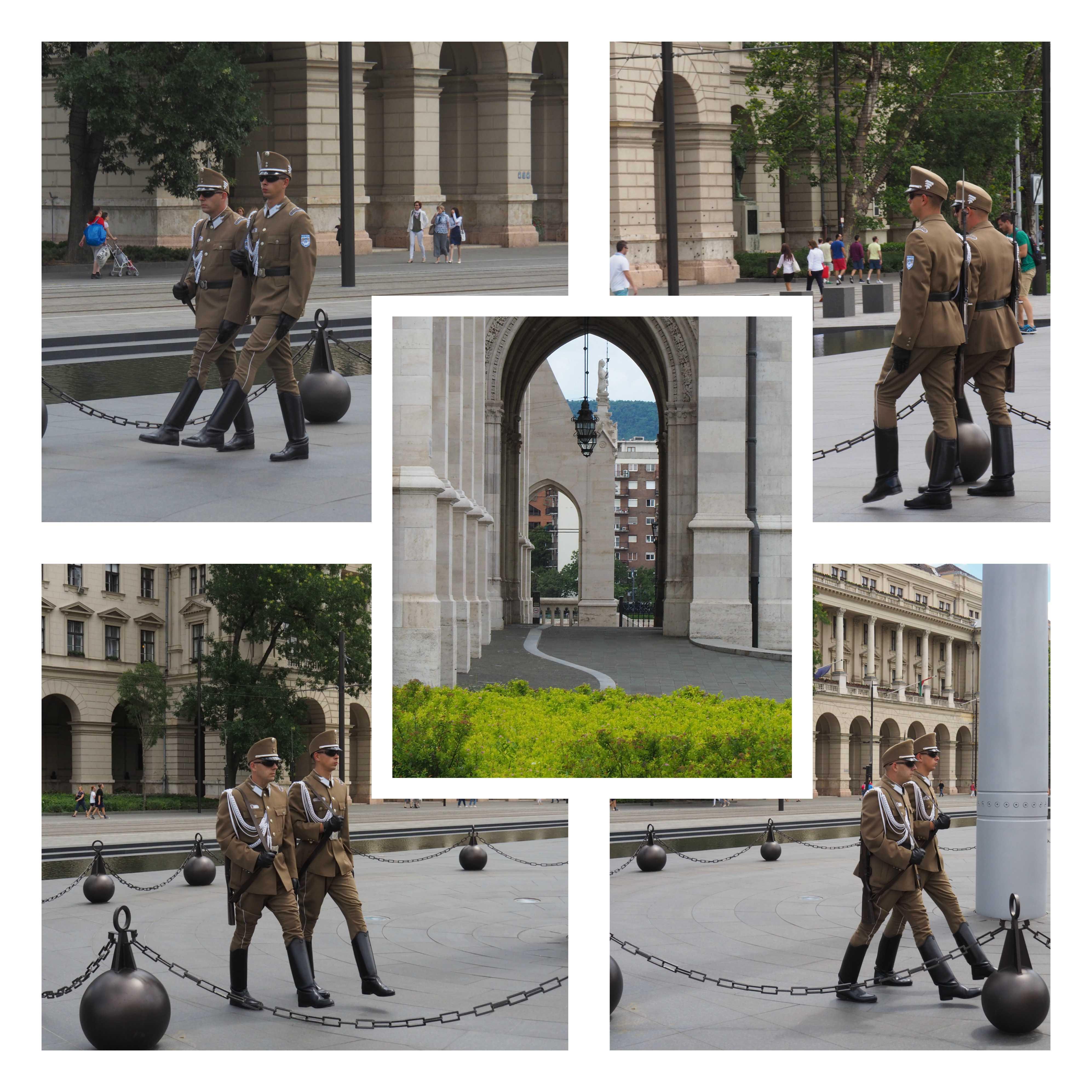 Visite de Budapest en famille, itinéraire sur 5 jours -La garde devant le Parlement