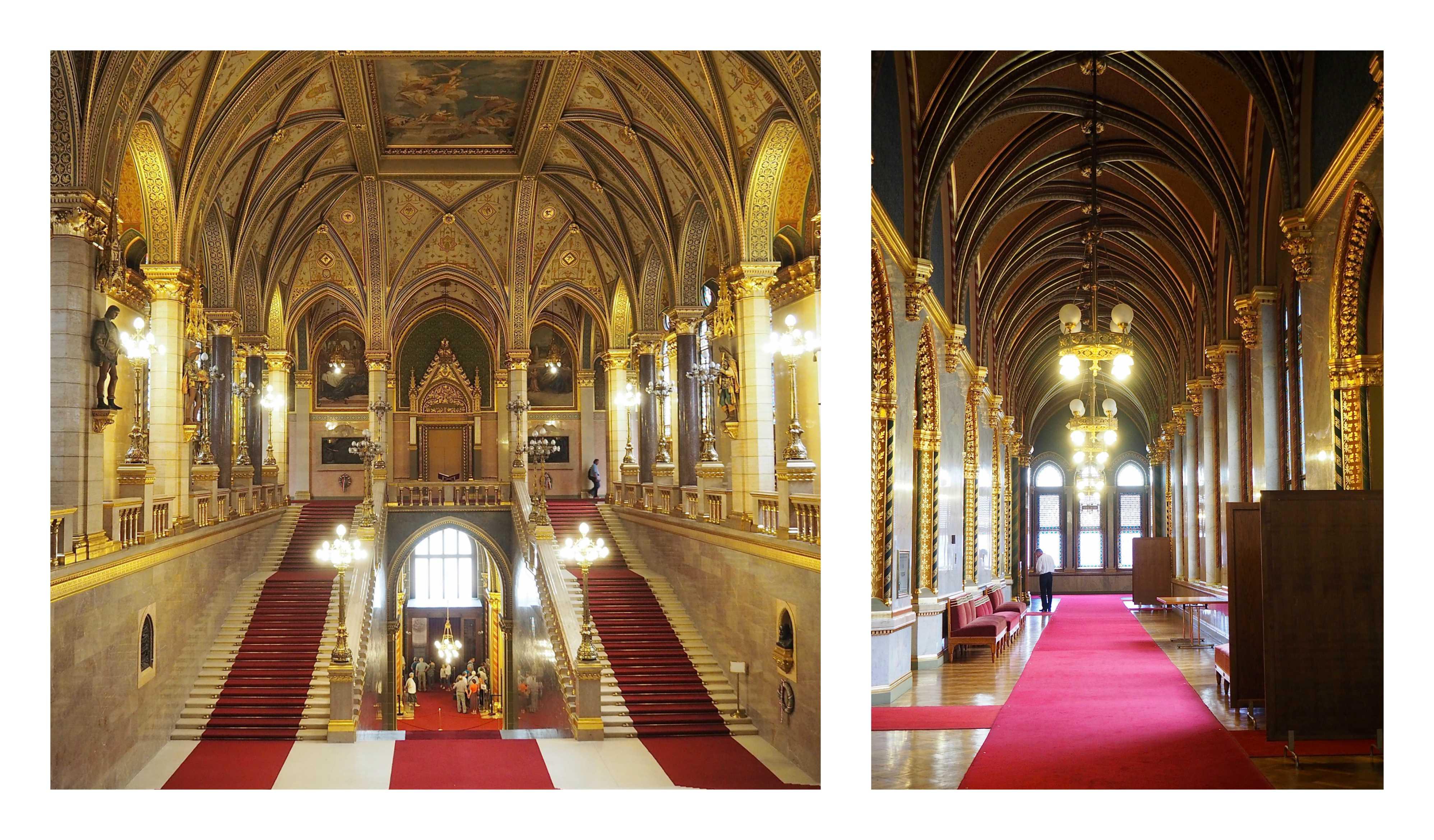 Visite de Budapest en famille, itinéraire sur 5 jours - Intérieur du Parlement