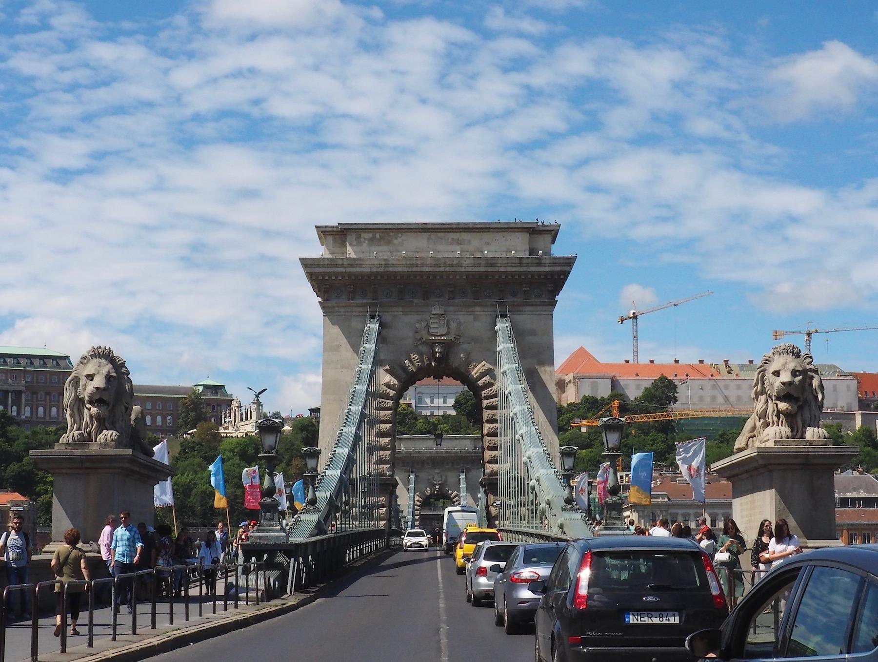 Visite de Budapest en famille, itinéraire sur 5 jours - Perspective sur le Pont des Chaînes