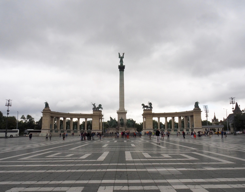 Visite de Budapest en famille, itinéraire sur 5 jours - Place des Héros