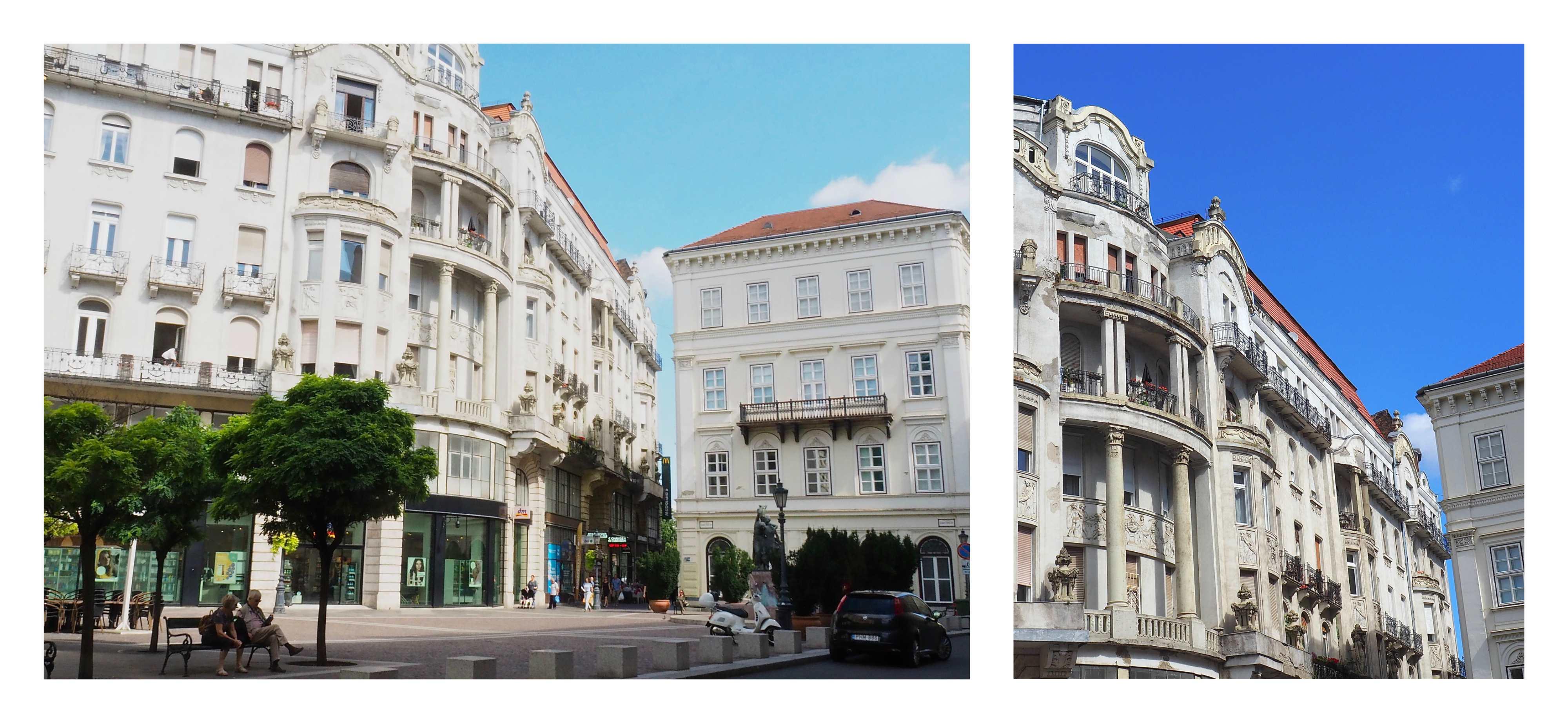 Visite de Budapest en famille, itinéraire sur 5 jours - Quartier Belvaros - notre appartement