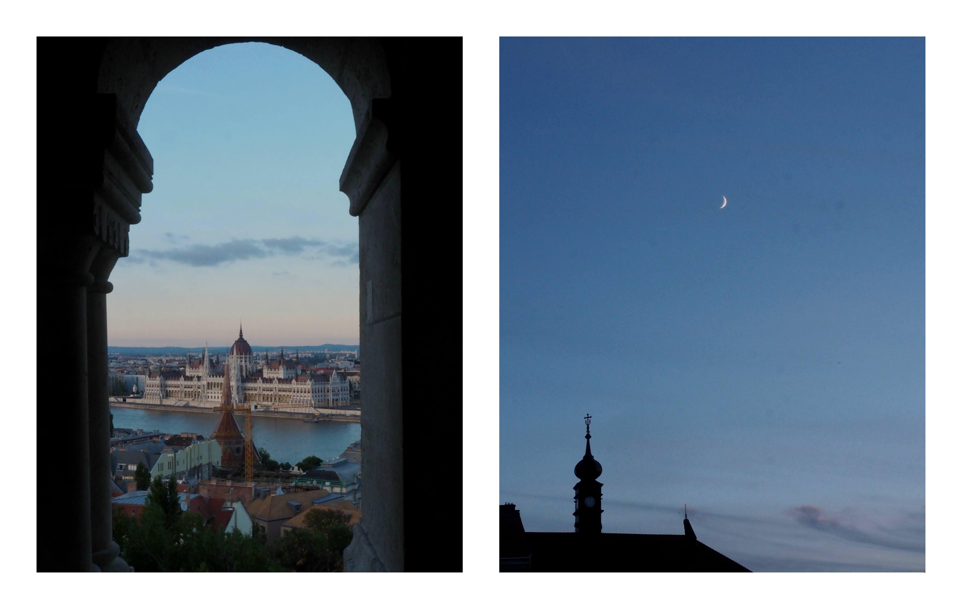 Visite de Budapest en famille, itinéraire sur 5 jours - Bord du Danube - Bastion des Pêcheurs - vue sur Parlement