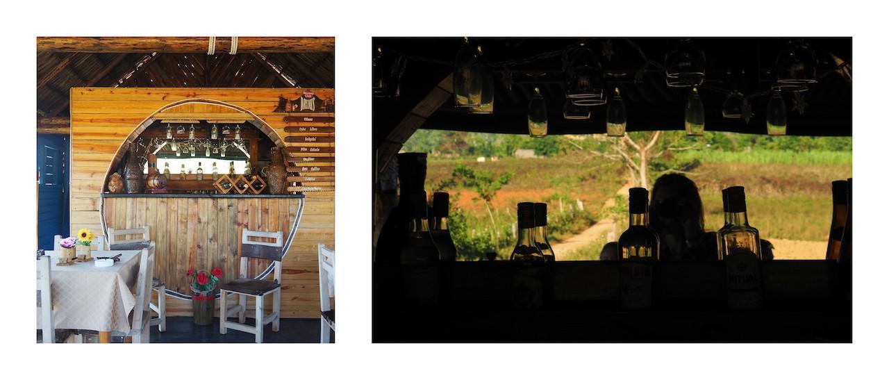 3 jours à Viñales (et au milieu des Mogotes)... une parenthèse hors du temps - Bar de la Casa Campo de Mileidys