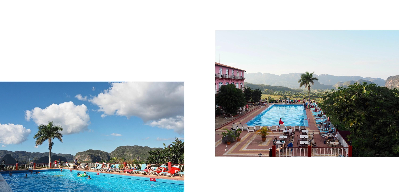 3 jours à Viñales... une parenthèse hors du temps - la piscine de l'hôtel Los Jazmines