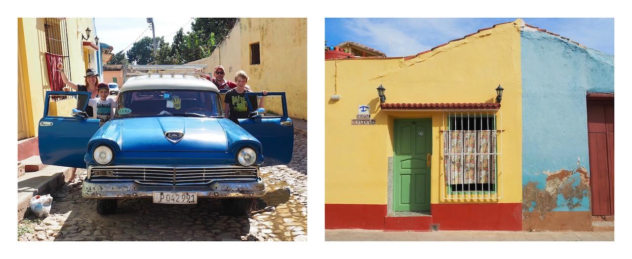 Cuba - 2 jours à Trinidad - arrivée à la Casa Gran Cana