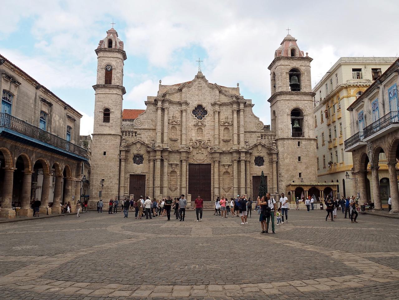 3 jours à la Havane - Cathédrale de la Havane