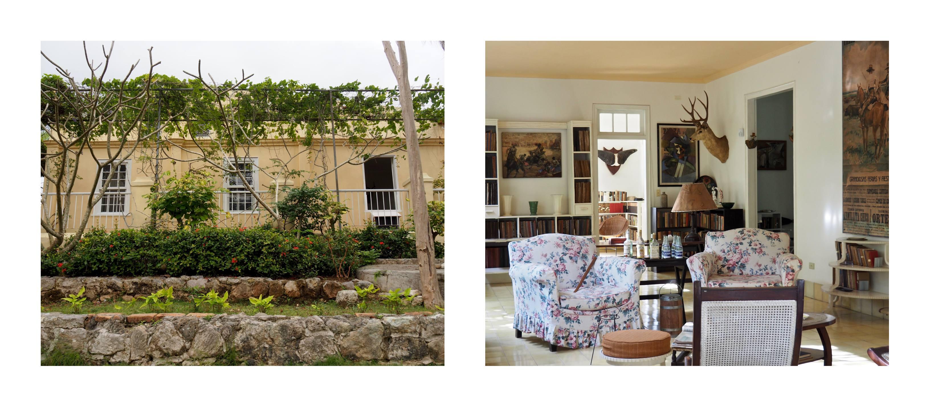 3 jours à la Havane - Finca Vigia - Le salon d'Hémingway