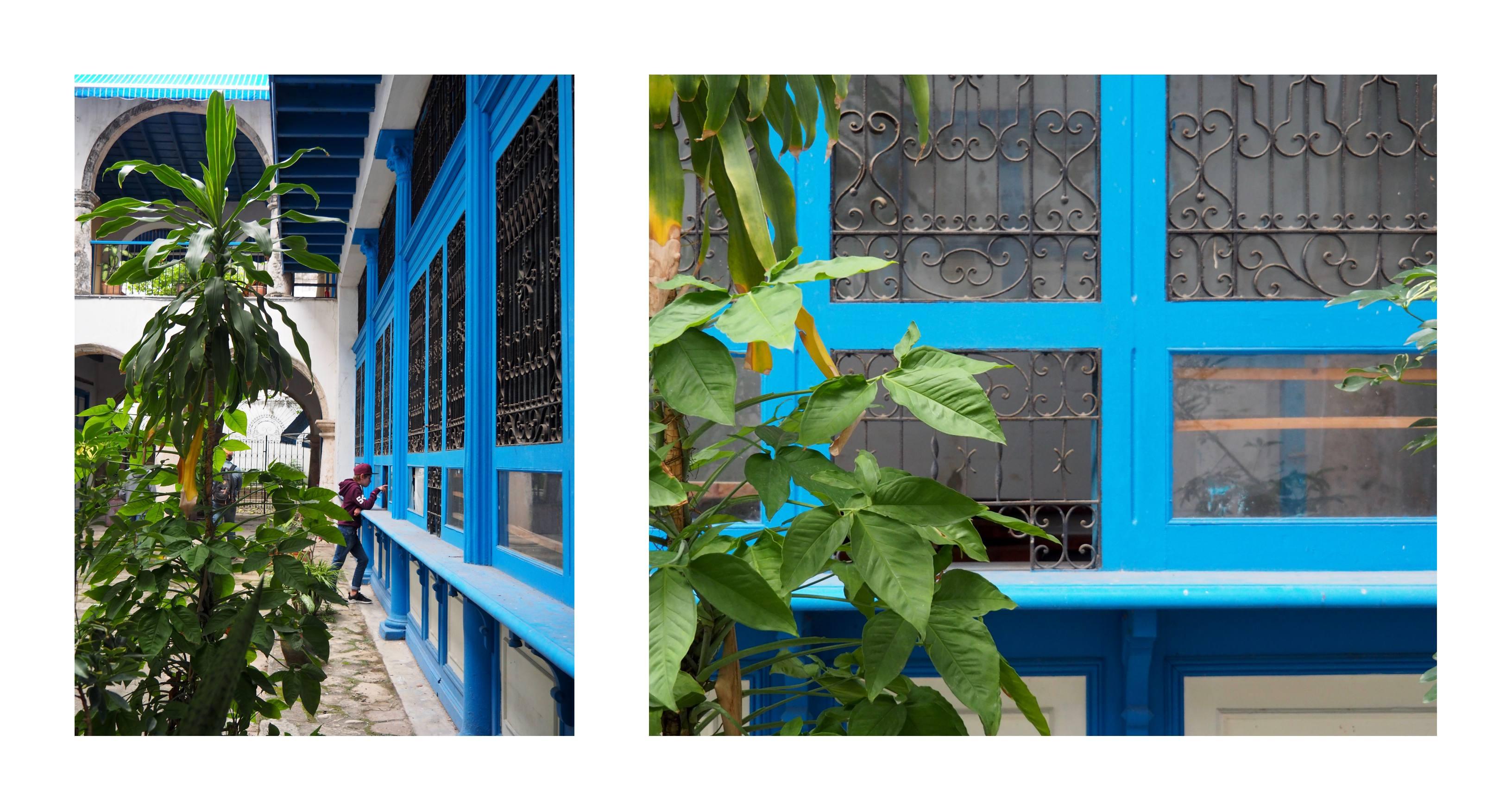 3 jours à la Havane - cour intérieure rénovée