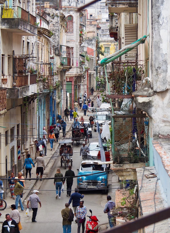3 jours à la Havane - Ambiance de la Habana Vieja avec vue de notre casa, Sol Balcany