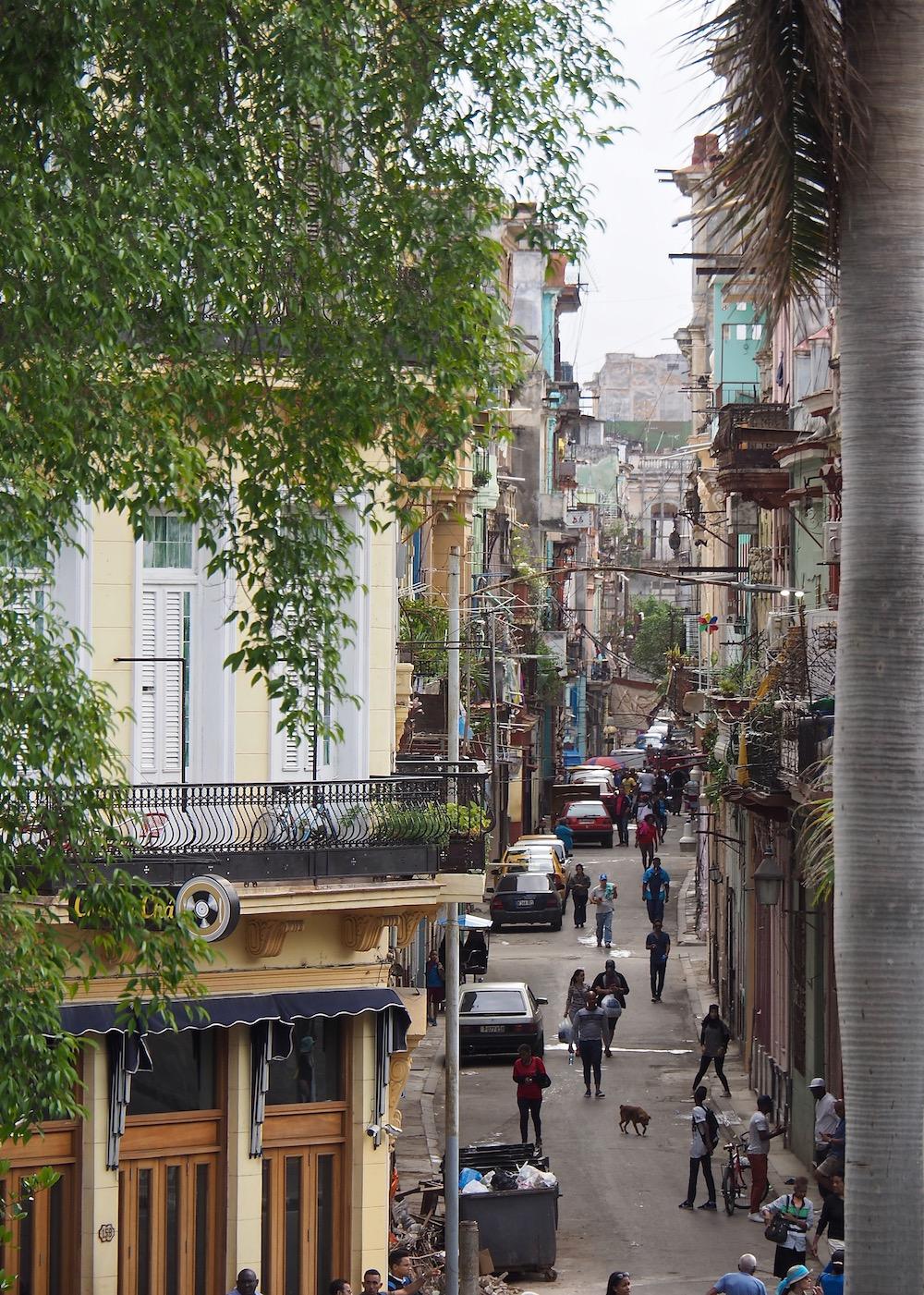 3 jours à la Havane - vue du musée de la Révolution