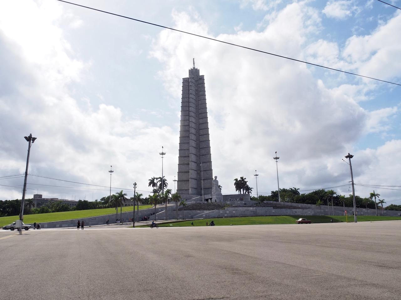 3 jours à la Havane - Plaza de la Revolucion