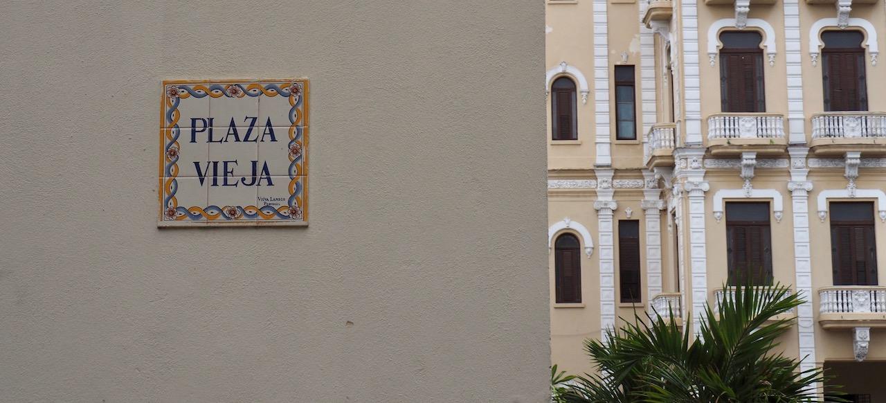 3 jours à la Havane - Plaza Vieja