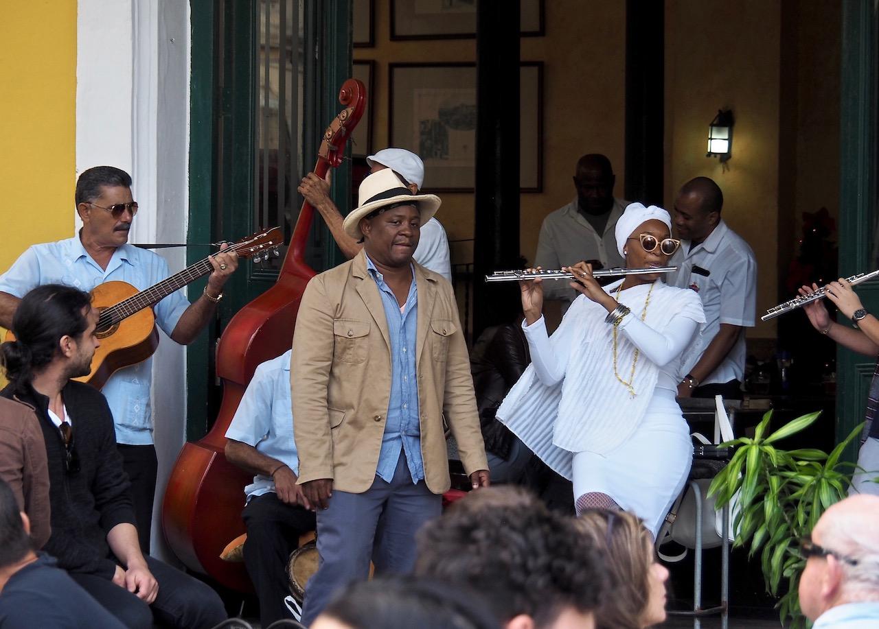 3 jours à la Havane - musiciens sur la Piaza Vieja