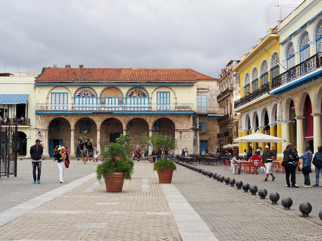 3 jours à la Havane - Piaza Vieja