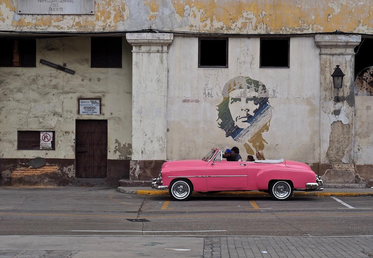 3 jours à la Havane - street art avec le Che dans les rues de la Habana Vieja