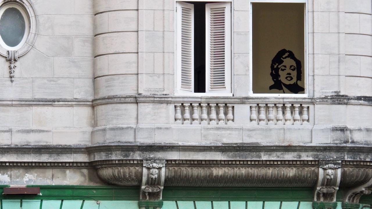 3 jours à la Havane - dans les rues de la Habana Vieja - street art avec Maryline Monroe