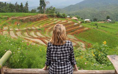 Une nuit à Ban Pa Pong Pieng : une expérience inoubliable dans les plus belles rizières en terrasses de Thaïlande