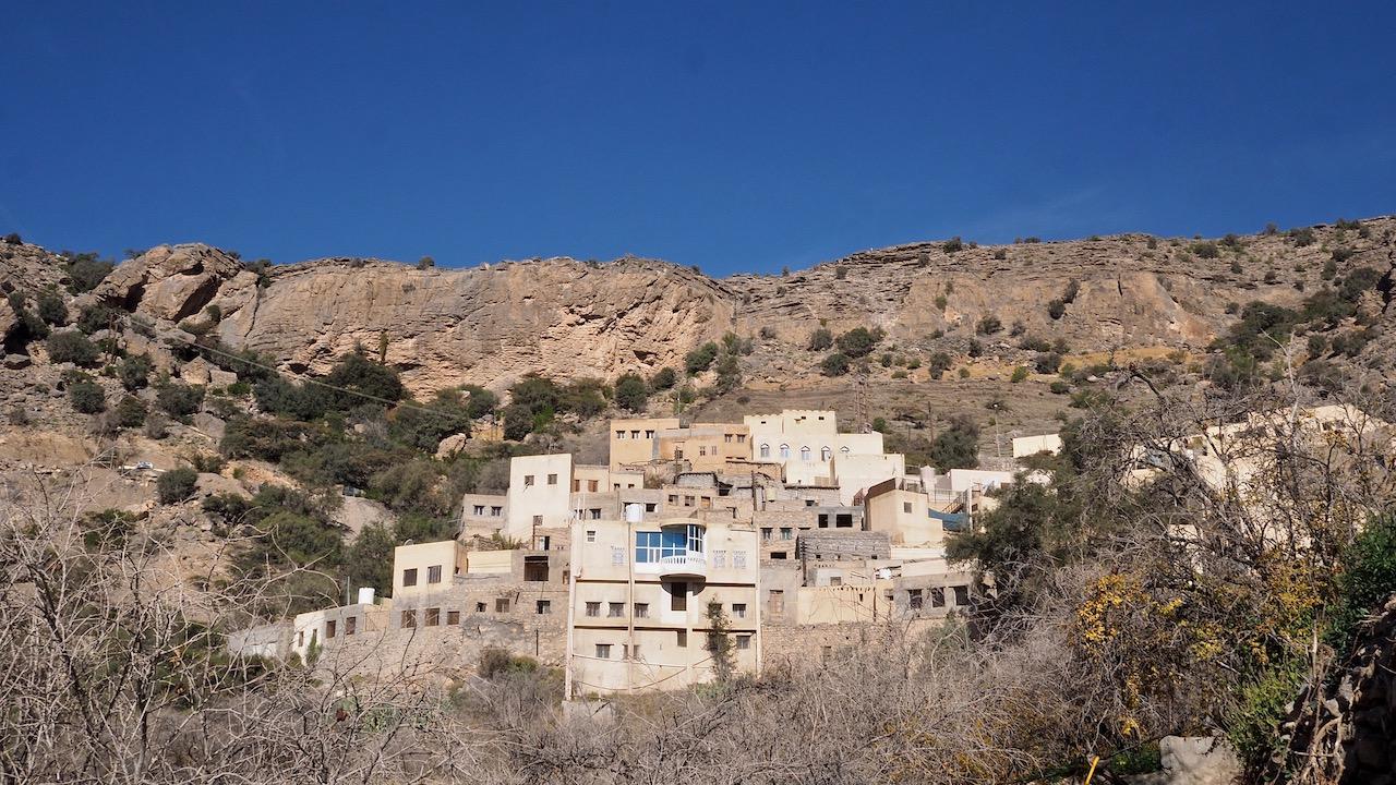 Voyage à Oman, petit village de Ash Shirayjah, Djebel Al Akhdar