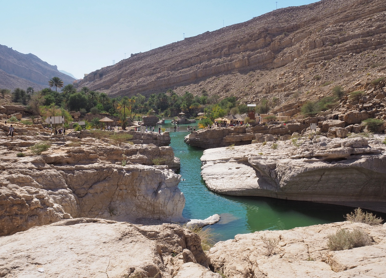 Voyage à Oman, wadi Bani Kalid