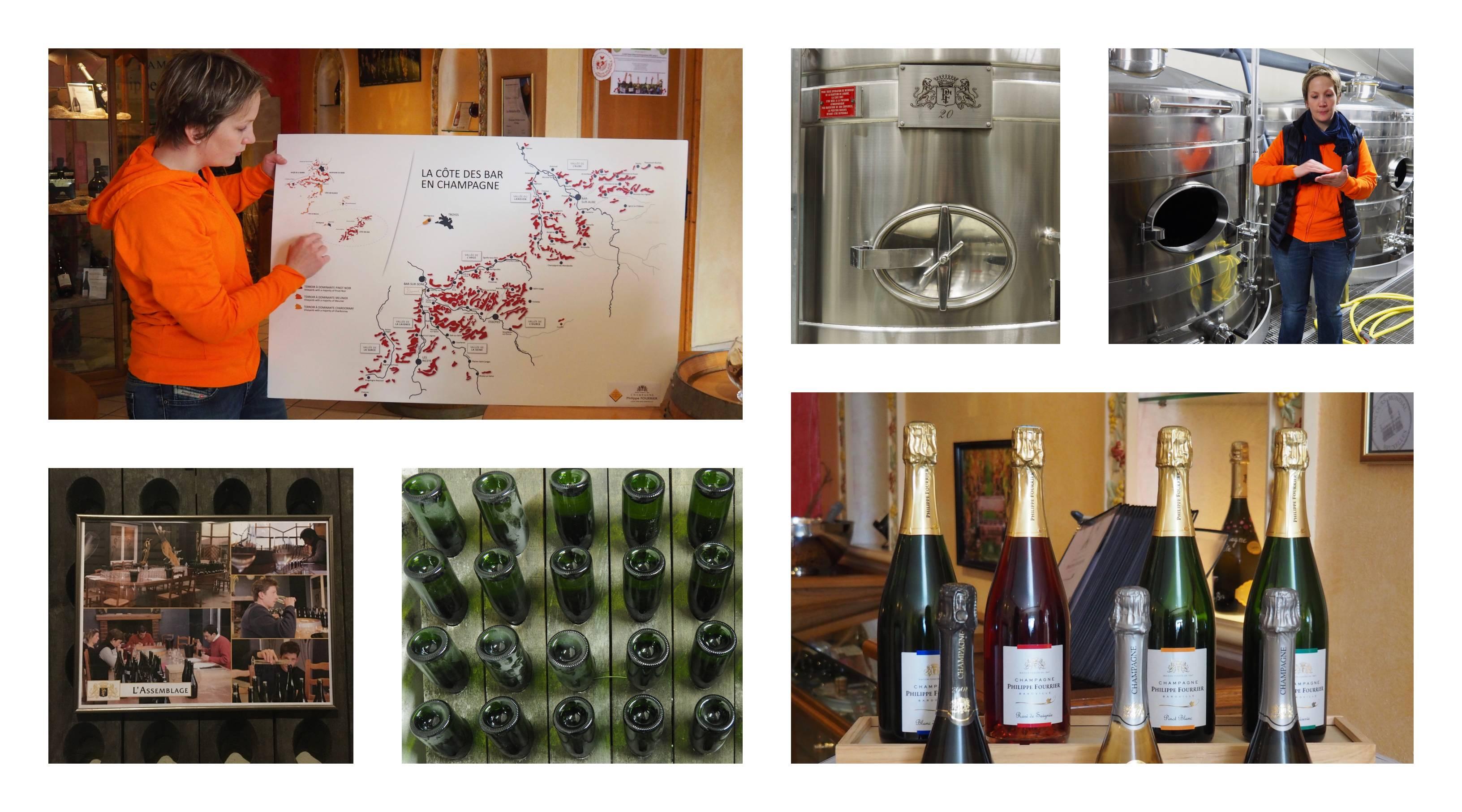 Week-end en Aube en Champagne - visite de la Cave Philippe Fourrier