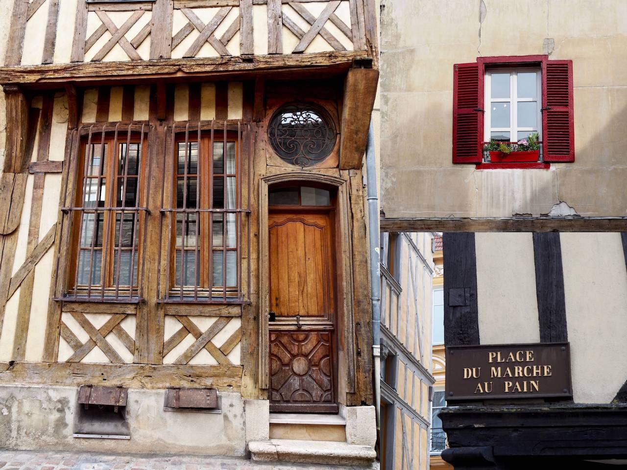 Week-end en Aube en Champagne - détails de Troyes